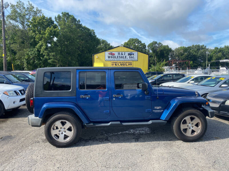 2009 Jeep Wrangler Unlimited for sale in Charleston, SC