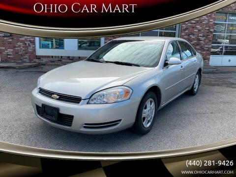2007 Chevrolet Impala for sale at Ohio Car Mart in Elyria OH