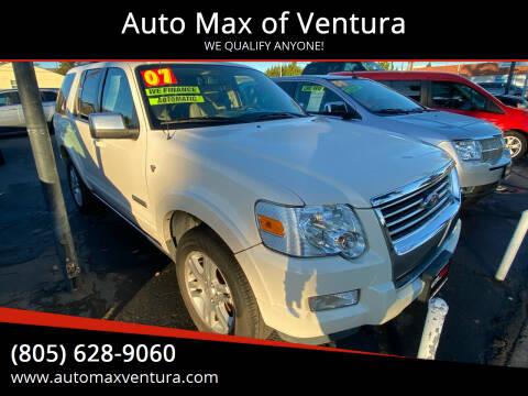 2007 Ford Explorer for sale at Auto Max of Ventura in Ventura CA
