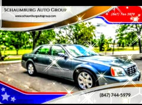 2005 Cadillac DeVille for sale at Schaumburg Auto Group in Schaumburg IL
