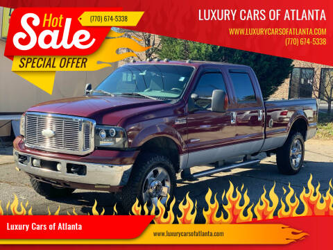 2006 Ford F-350 Super Duty for sale at Luxury Cars of Atlanta in Snellville GA