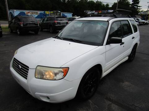 2006 Subaru Forester for sale at Route 12 Auto Sales in Leominster MA