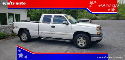 2007 Chevrolet Silverado 1500 Classic for sale at walts auto in Cherryville PA
