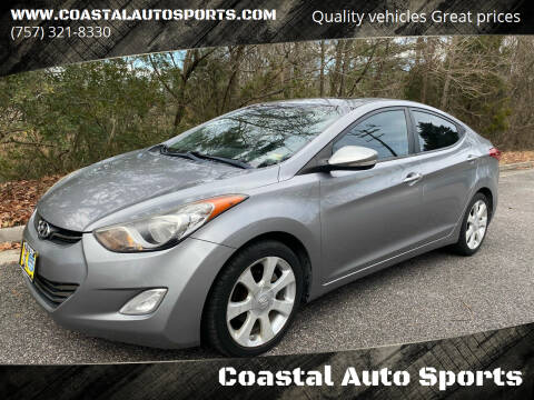 2011 Hyundai Elantra for sale at Coastal Auto Sports in Chesapeake VA