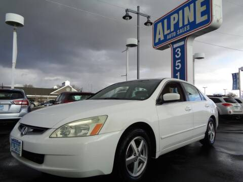 2004 Honda Accord for sale at Alpine Auto Sales in Salt Lake City UT