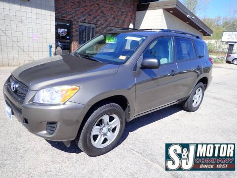 2011 Toyota RAV4 for sale at S & J Motor Co Inc. in Merrimack NH