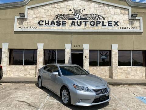 2015 Lexus ES 350 for sale at CHASE AUTOPLEX in Lancaster TX