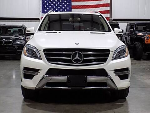 2014 Mercedes-Benz M-Class for sale at Texas Motor Sport in Houston TX