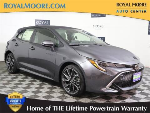 2021 Toyota Corolla Hatchback for sale at Royal Moore Custom Finance in Hillsboro OR