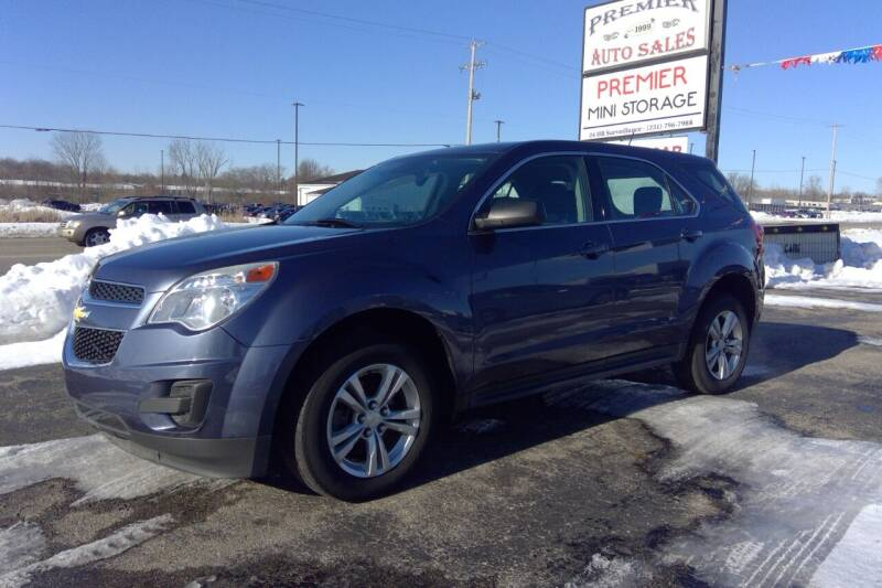 2014 Chevrolet Equinox for sale at Premier Auto Sales Inc. in Big Rapids MI