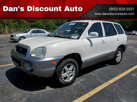 2004 Hyundai Santa Fe for sale at Dan's Discount Auto in Gaston SC