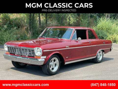 1964 Chevrolet Nova for sale at MGM CLASSIC CARS-New Arrivals in Addison IL
