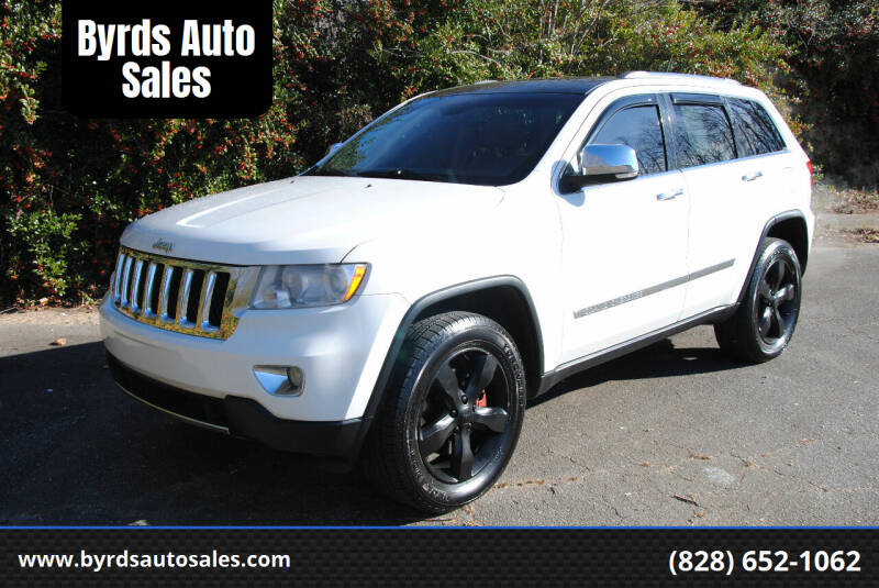 2011 Jeep Grand Cherokee for sale at Byrds Auto Sales in Marion NC