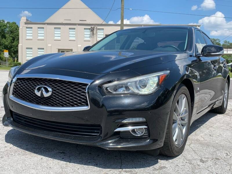2014 Infiniti Q50 for sale at LUXURY AUTO MALL in Tampa FL