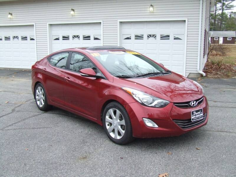 2013 Hyundai Elantra for sale at DUVAL AUTO SALES in Turner ME