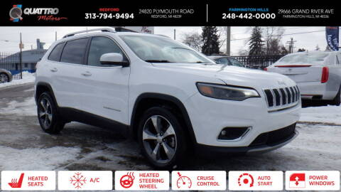 2019 Jeep Cherokee for sale at Quattro Motors 2 - 1 in Redford MI