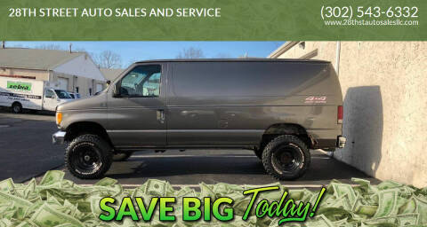 2003 Ford E-Series Cargo for sale at 28TH STREET AUTO SALES AND SERVICE in Wilmington DE
