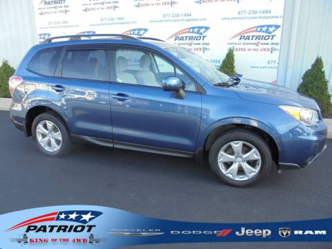 2014 Subaru Forester for sale at PATRIOT CHRYSLER DODGE JEEP RAM in Oakland MD