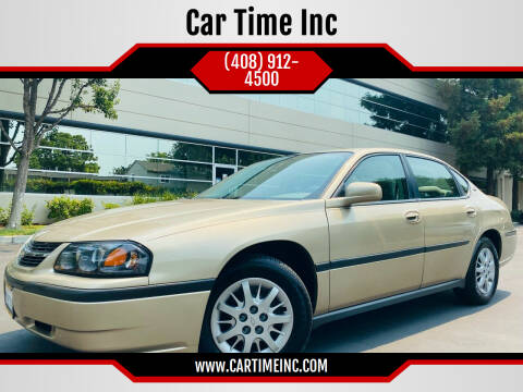 2005 Chevrolet Impala for sale at Car Time Inc in San Jose CA