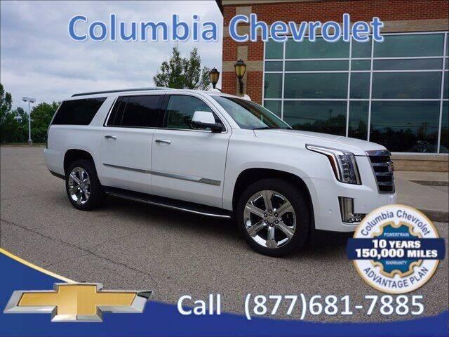 2020 Cadillac Escalade ESV for sale at COLUMBIA CHEVROLET in Cincinnati OH