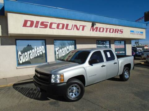 2010 Chevrolet Silverado 1500 for sale at Discount Motors in Pueblo CO
