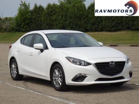 2016 Mazda MAZDA3 for sale at RAVMOTORS in Burnsville MN