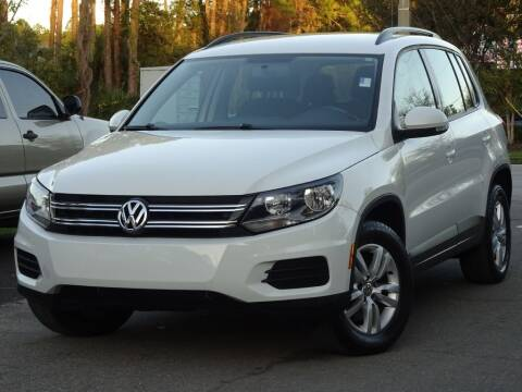 2015 Volkswagen Tiguan for sale at Deal Maker of Gainesville in Gainesville FL