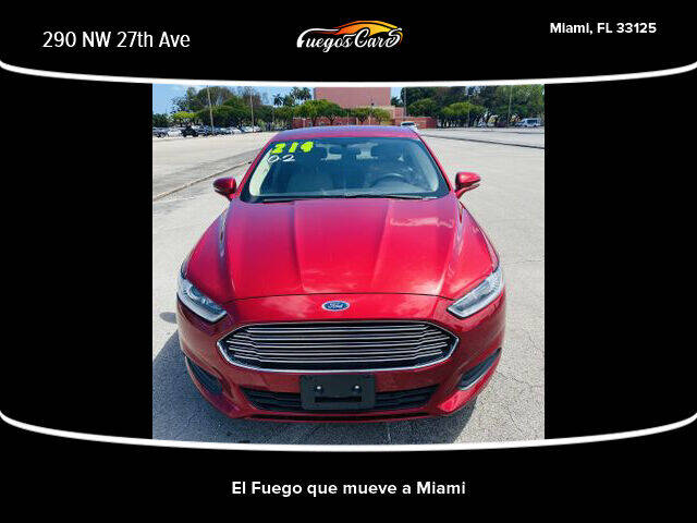 2014 Ford Fusion for sale at Fuego's Cars in Miami FL