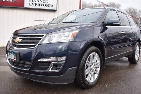 2015 Chevrolet Traverse for sale at Dealswithwheels in Inver Grove Heights/Hastings MN
