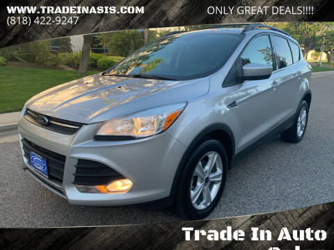 2013 Ford Escape for sale at Trade In Auto Sales in Van Nuys CA