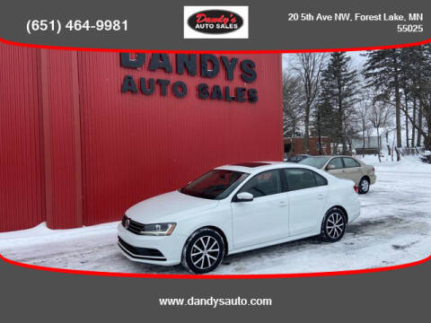 2017 Volkswagen Jetta for sale at Dandy's Auto Sales in Forest Lake MN