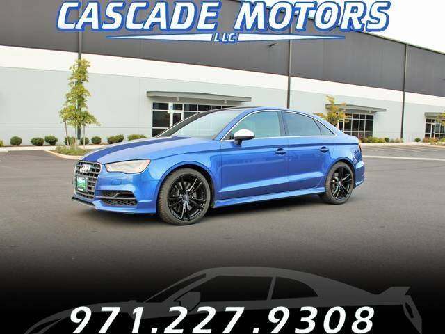 2015 Audi S3 for sale at Cascade Motors in Portland OR