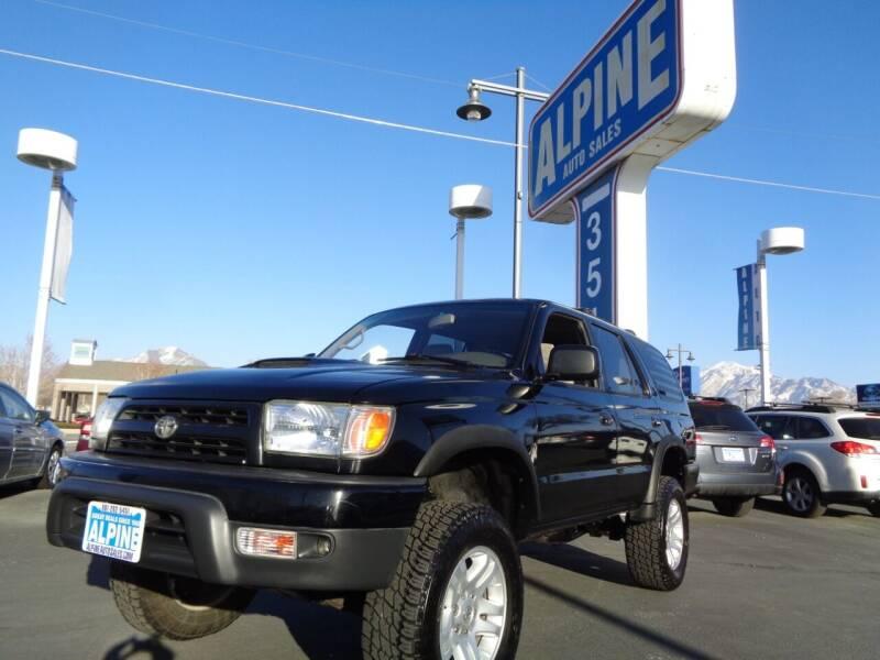 1999 Toyota 4Runner for sale at Alpine Auto Sales in Salt Lake City UT