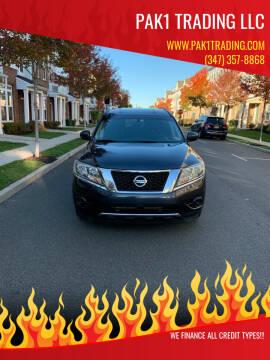 2013 Nissan Pathfinder for sale at Pak1 Trading LLC in South Hackensack NJ