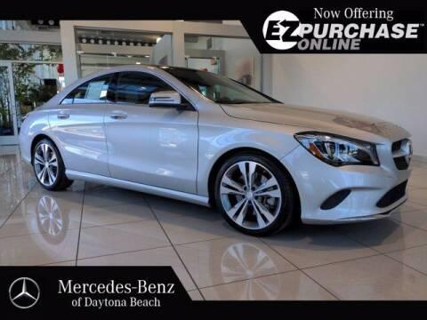 2018 Mercedes-Benz CLA for sale at Mercedes-Benz of Daytona Beach in Daytona Beach FL