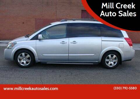 2004 Nissan Quest for sale at Mill Creek Auto Sales in Youngstown OH