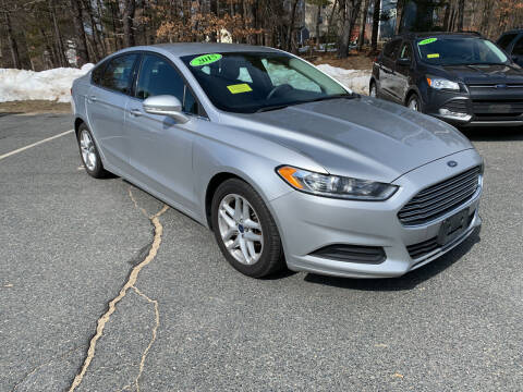 2015 Ford Fusion for sale at Ric's Auto Sales in Billerica MA