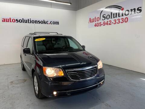 2014 Chrysler Town and Country for sale at Auto Solutions in Warr Acres OK
