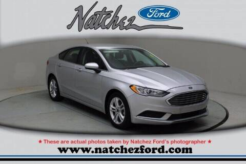 2018 Ford Fusion for sale at Auto Group South - Natchez Ford Lincoln in Natchez MS