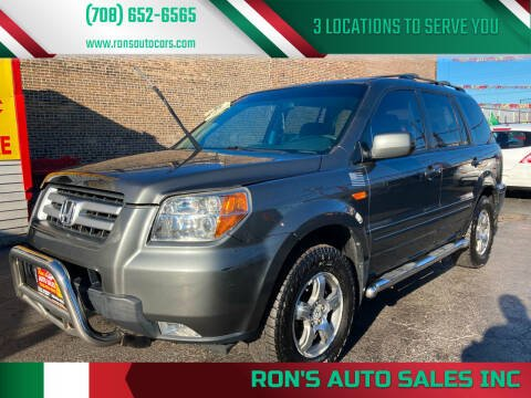 2007 Honda Pilot for sale at RON'S AUTO SALES INC in Cicero IL