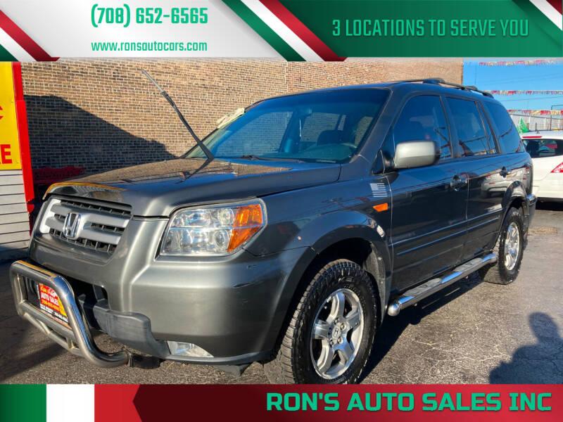 2007 Honda Pilot for sale at RON'S AUTO SALES INC in Cicero IL