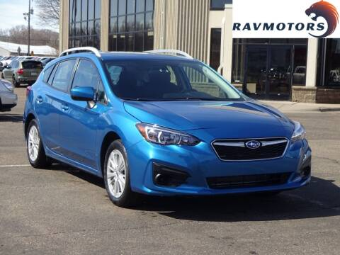 2017 Subaru Impreza for sale at RAVMOTORS 2 in Crystal MN