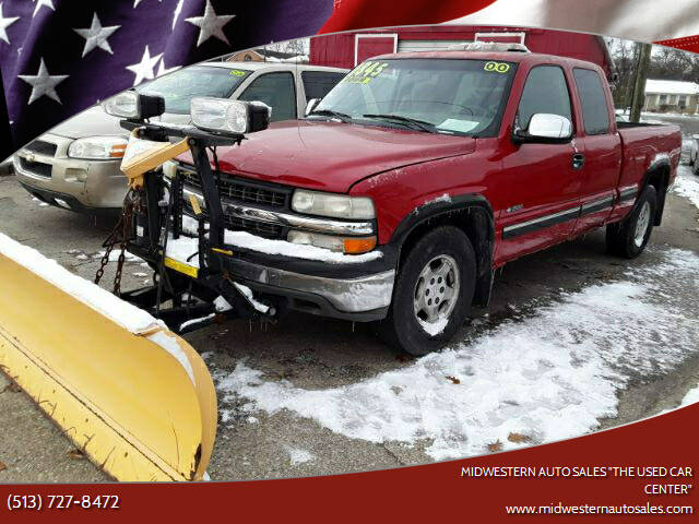 """2000 Chevrolet Silverado 1500 for sale at MIDWESTERN AUTO SALES        """"The Used Car Center"""" in Middletown OH"""