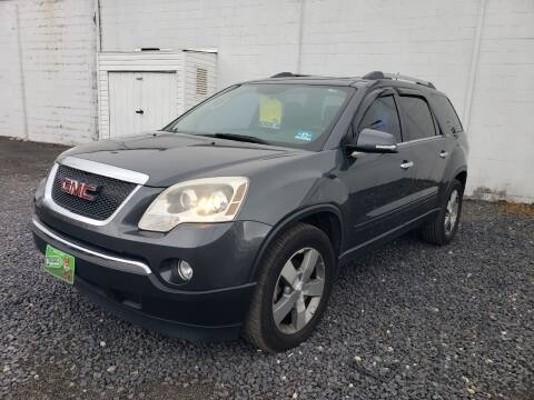 2011 GMC Acadia for sale at CRS 1 LLC in Lakewood NJ