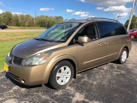2004 Nissan Quest for sale at Sunshine Auto Sales in Menasha WI