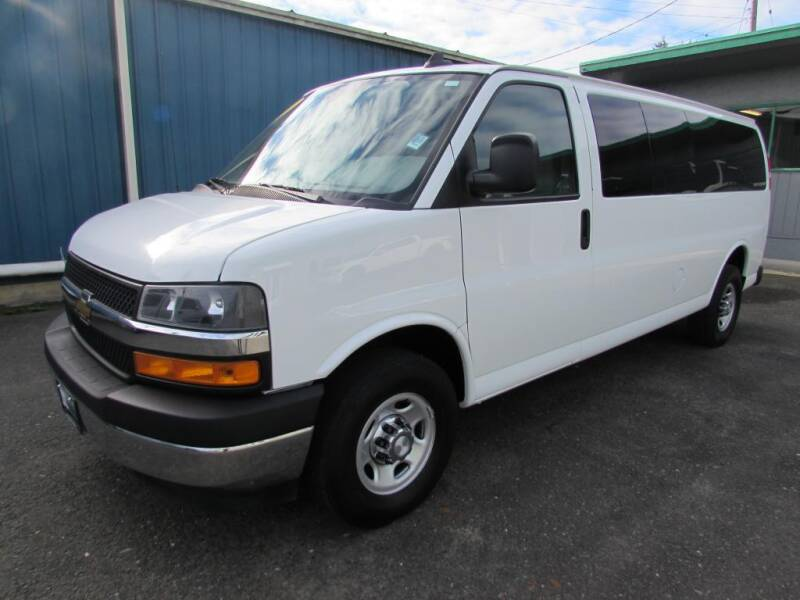 2018 Chevrolet Express Passenger for sale at 101 Budget Auto Sales in Coos Bay OR