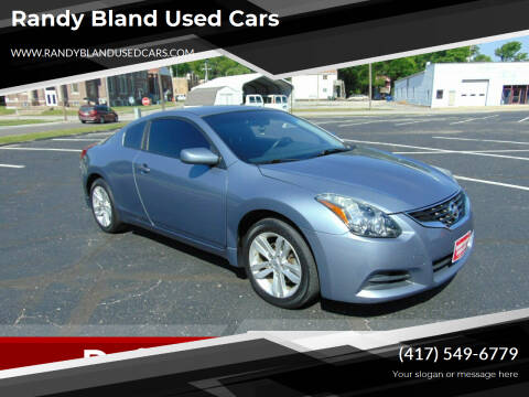 2012 Nissan Altima for sale at Randy Bland Used Cars in Nevada MO