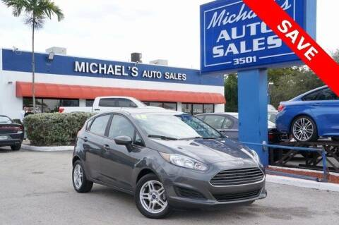 2018 Ford Fiesta for sale at Michael's Auto Sales Corp in Hollywood FL