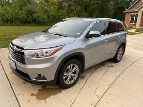 2015 Toyota Highlander for sale at Sansone Cars in Lake Saint Louis MO