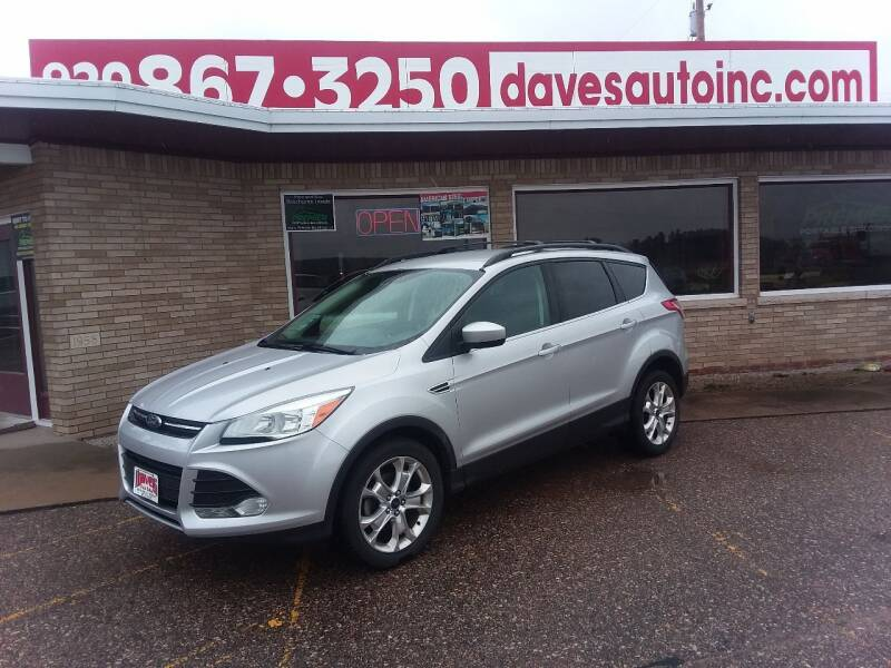 2013 Ford Escape for sale at Dave's Auto Sales & Service in Weyauwega WI